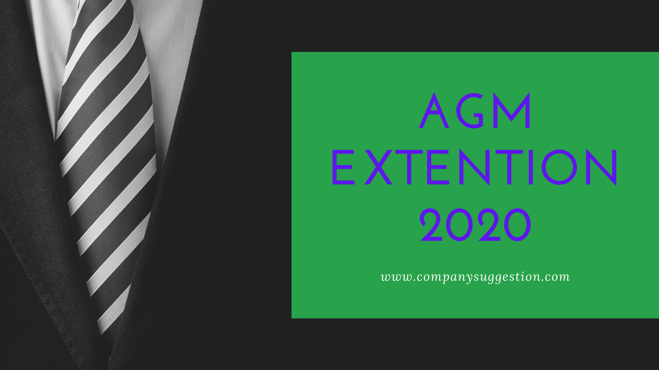 AGM Extension For the FY March,2020