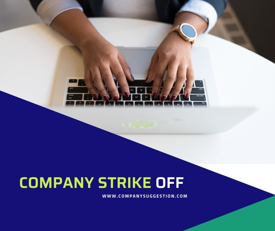 COMPANIES STRIKE-OFF